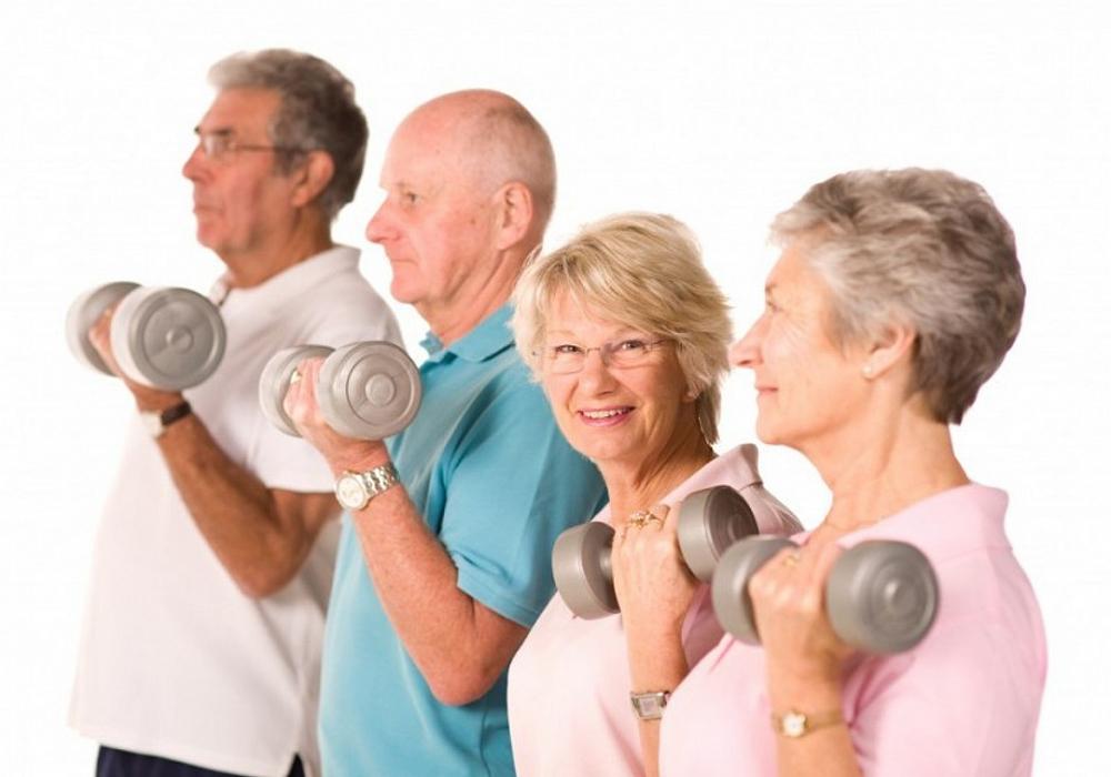 физические упражнения для пожилых