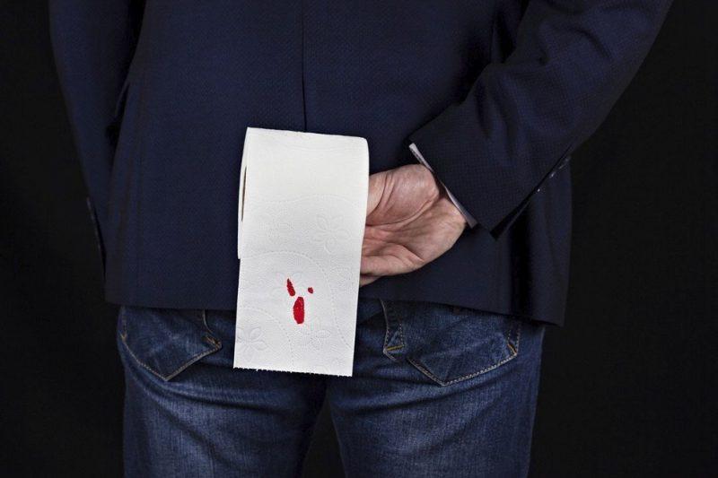 кровь при геморрое