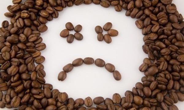 Смайлик из зерен кофе
