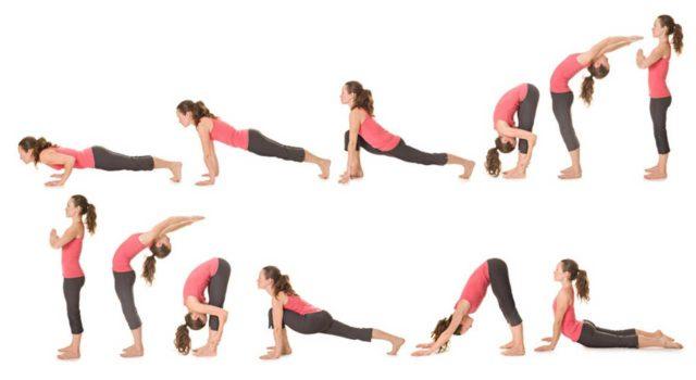 Позы при йоге