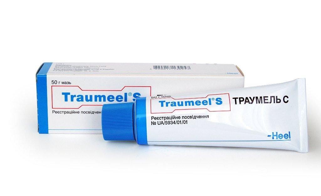 Упаковка и тюбик средства Траумель