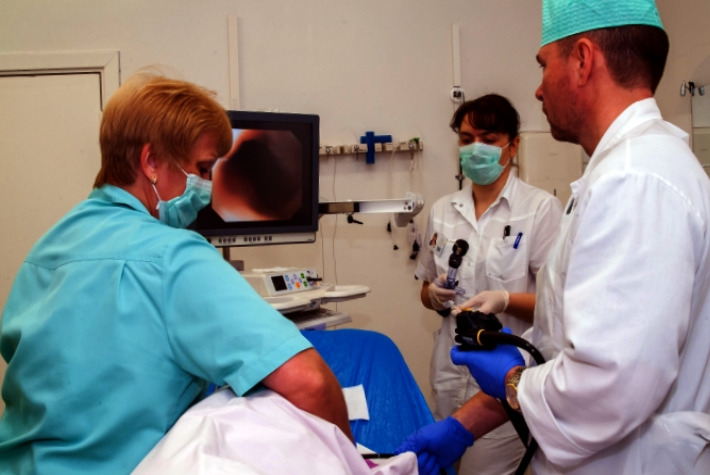 проведение колоноскопии