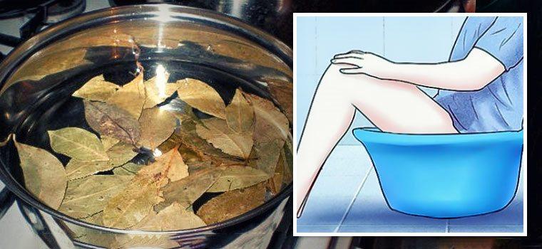 ванночка с лавровым листом
