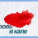 Кровь в кале